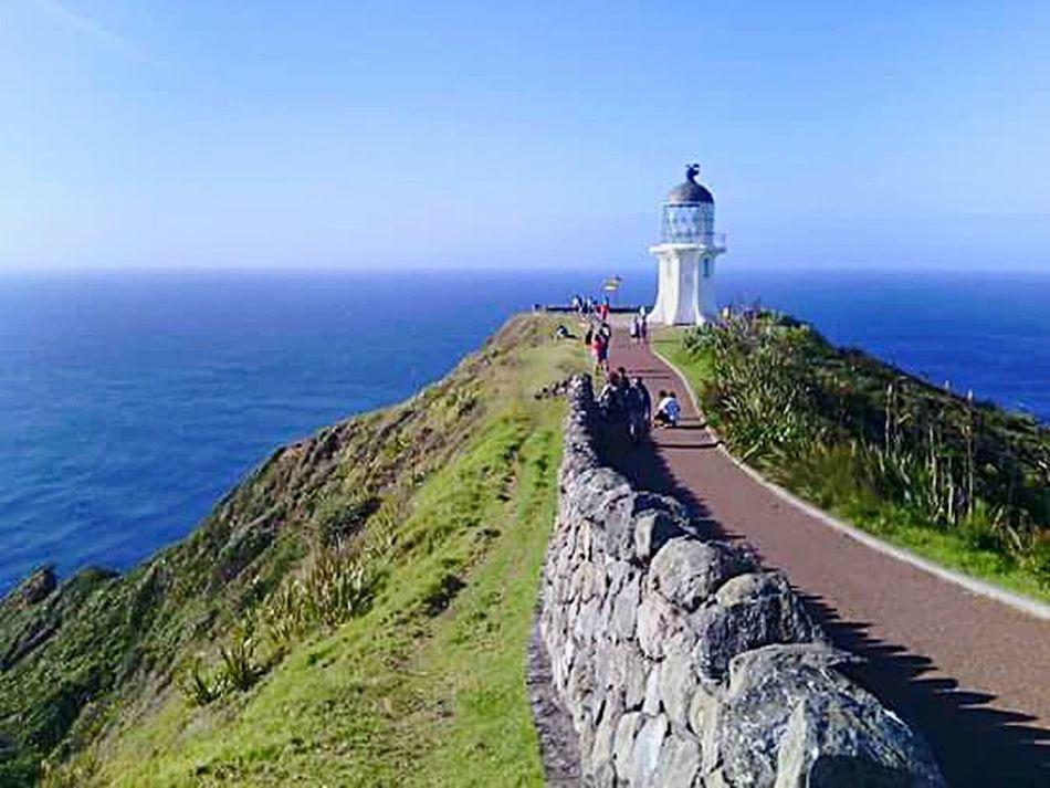 The Great Outdoors - 2015 EyeEm Awards Capereinga Newzealand TopOfTheNorthIsland Lighthouse