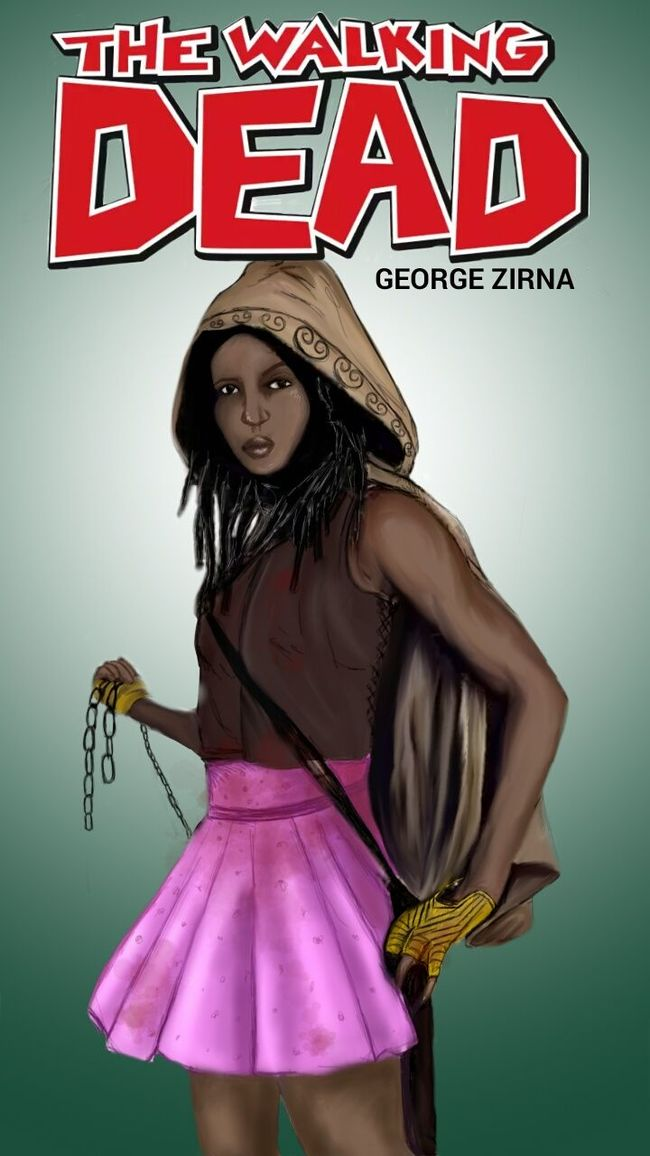 Art, Drawing, Creativity Drawingwork Fashionblogger George Zirna Check This Out The Walking Dead