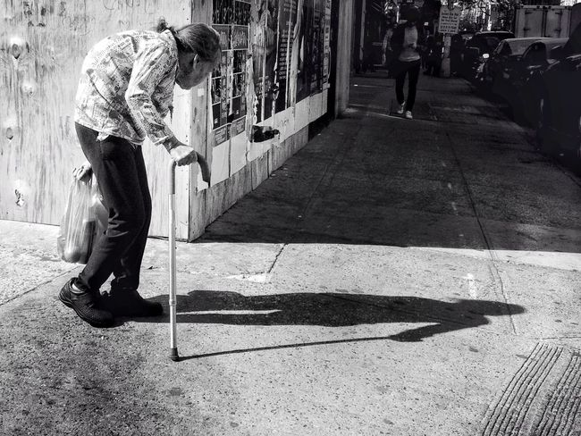 I will go where ever she takes me New York Streetphotography AMPt_community Blackandwhite Streetphoto_bw