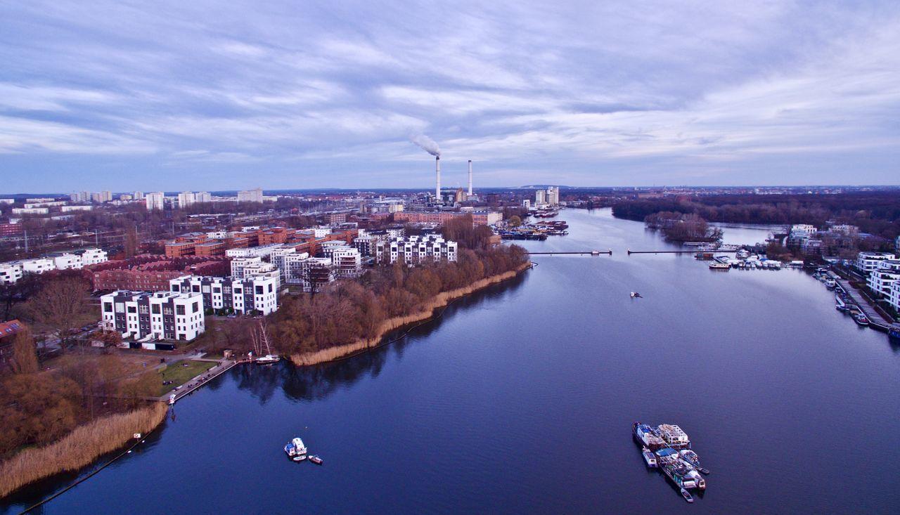 Rummelsburger See, Berlin City Nautical Vessel Rummelsburger Bucht Rummelsburger See Water