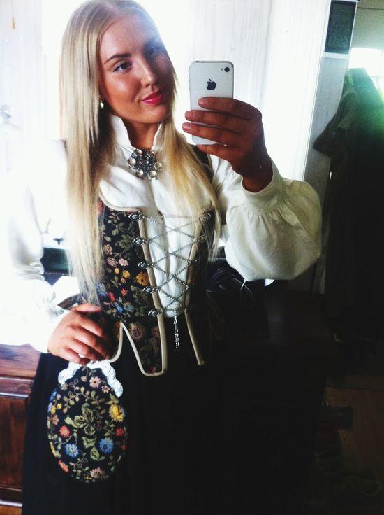 Norwegian Bunad National Dress