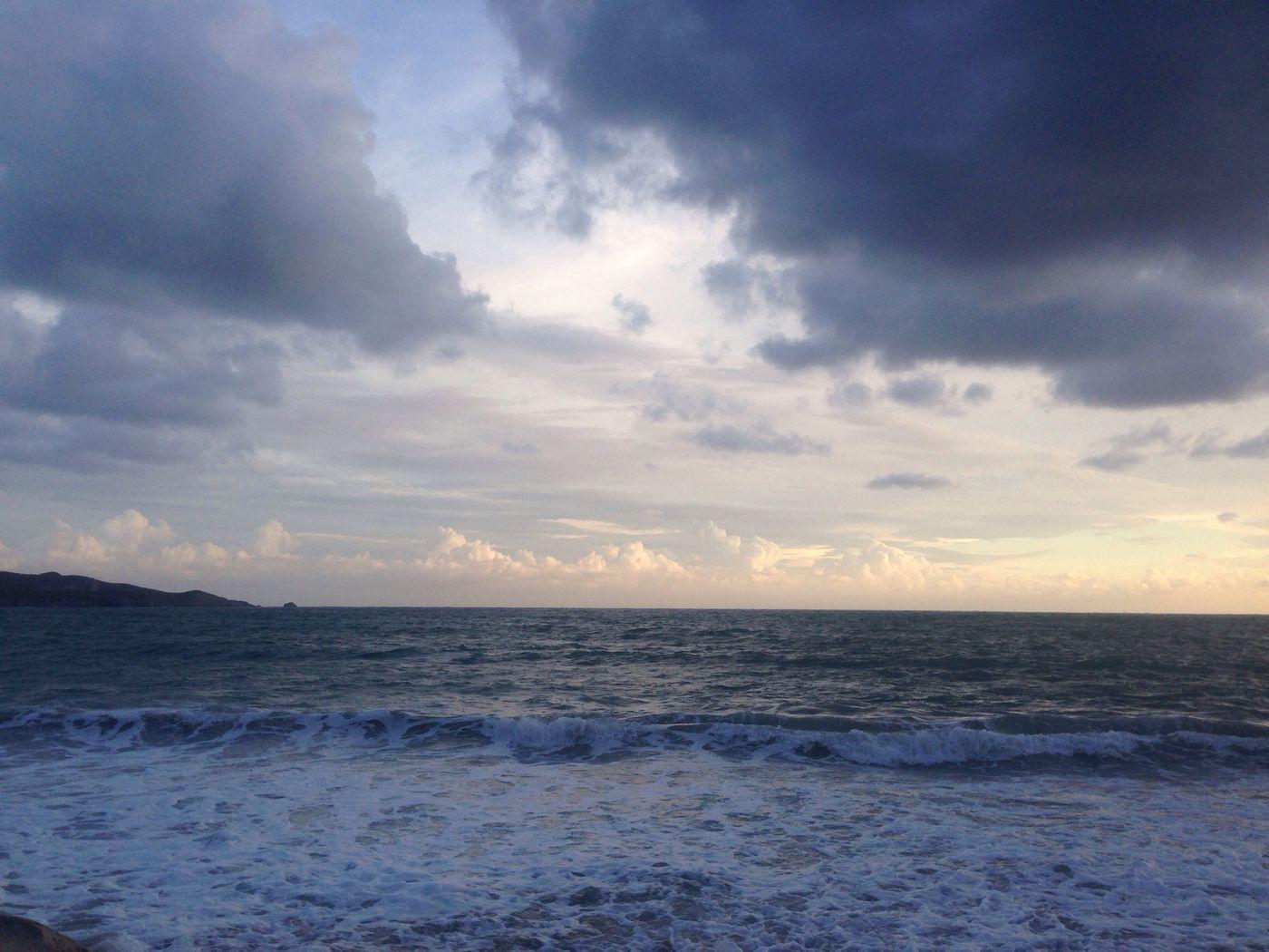 Playa Paisaje Atardecer Hermoso