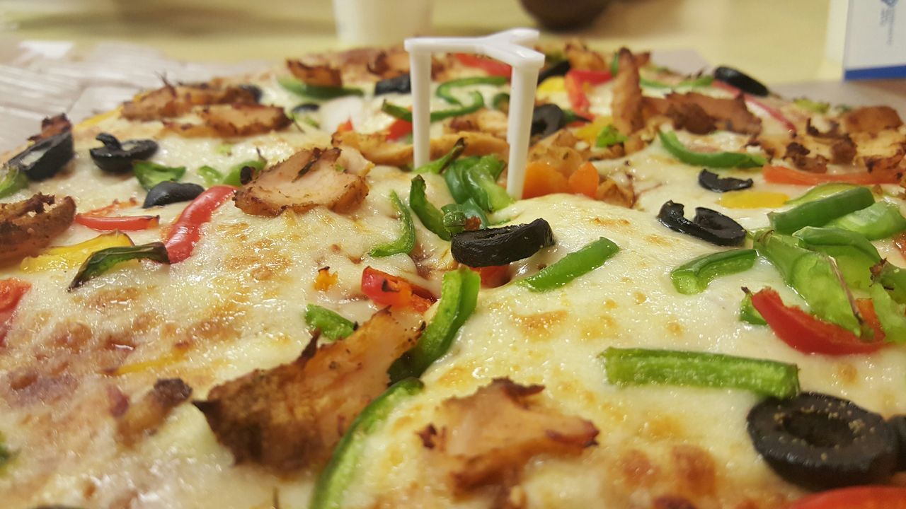 Pizza Time Check This Out Pizza Cheese! Dominos Served With LoveHanging Out