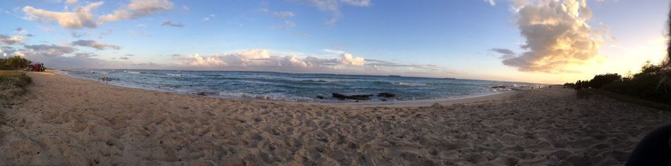 Ewa beach while listening to some grown folk music relaxing Watching The Sunset