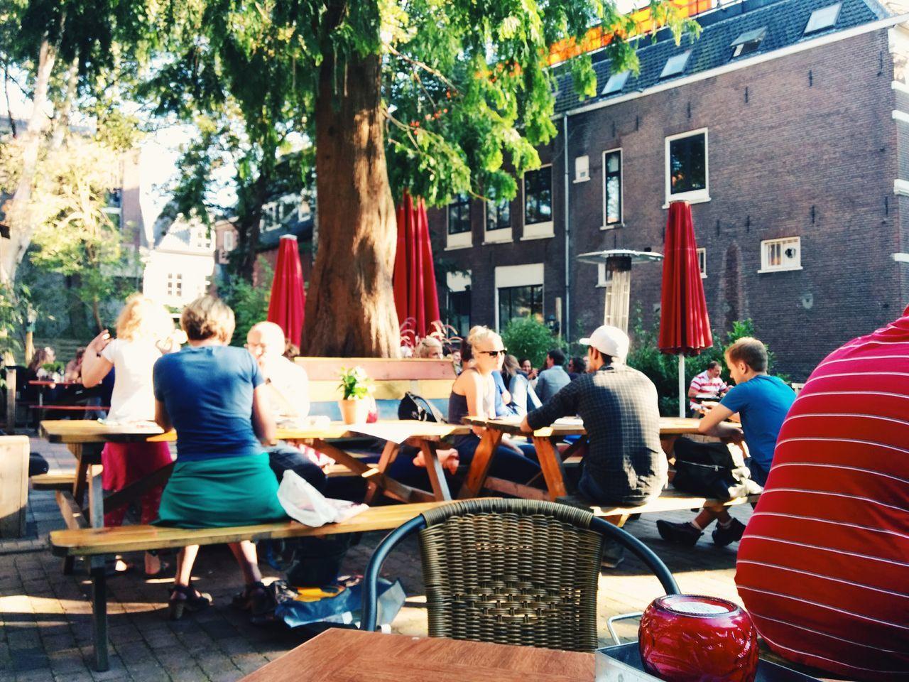 Backyard terrace. Vscocam Amersfoort