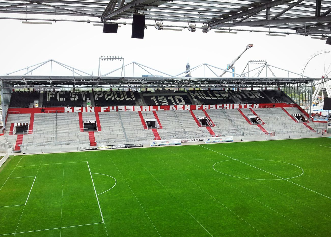 So this is how it looks when it's empty! FCSP Relaxing St. Pauli Hello World