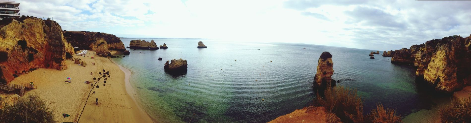 What Does Peace Look Like To You? Algarve Panorama Enjoying The Sun