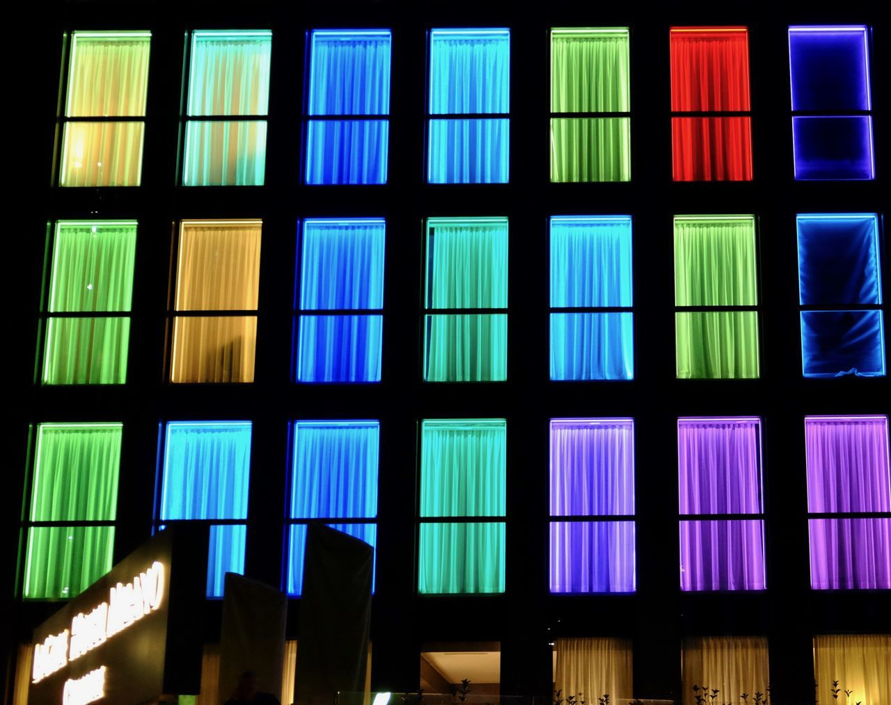Backgrounds Blue Building Exterior Built Structure Color Color Explosion Color Of Life Color Photography Colorful Colors Day Hotel Hotel Life Hotel Romm Hotel View Hotels Illuminated Indoors  Multi Colored New Talents No People Pattern Urban Window