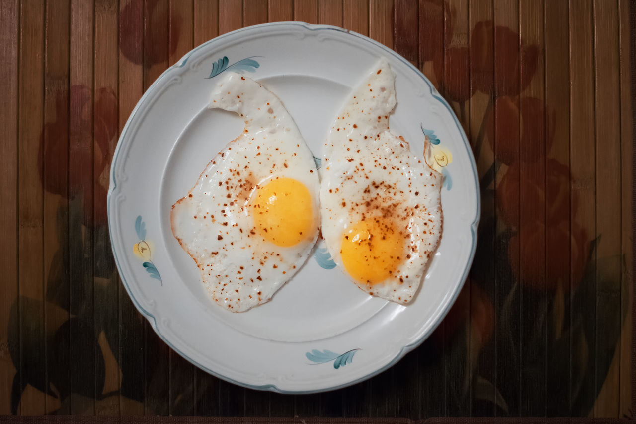 Breakfast Close-up Egg Egg Yolk Food Food And Drink Freshness Fried Egg Healthy Eating Indoors  No People Plate Ready-to-eat Serving Size Sunny Side Up