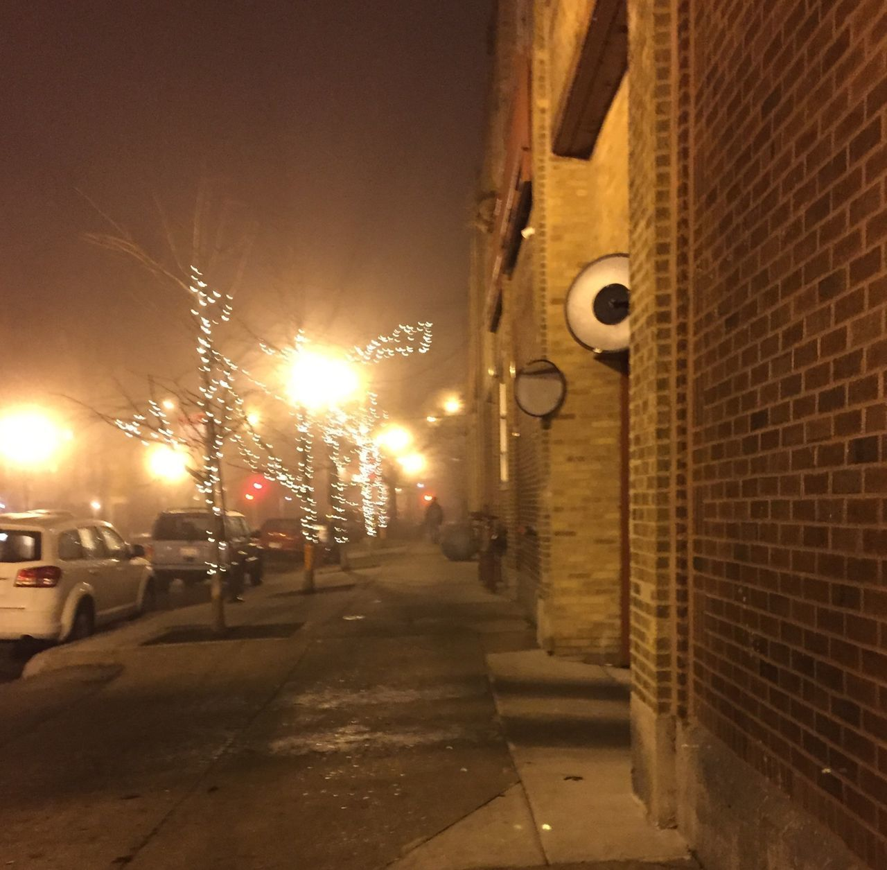 Streetphotography Nightphotography Chicago Rogers Park Chicago Illinois Foggy Fog_collection Fog Learn & Shoot: After Dark
