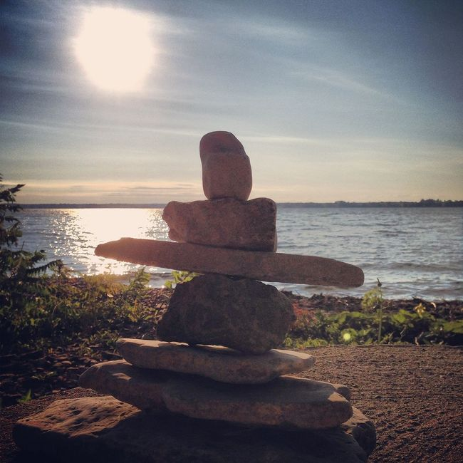 AMPt_community the Inukshuk ✌ EyeEm Nature Lover Nature_collection EyeEm Best Shots