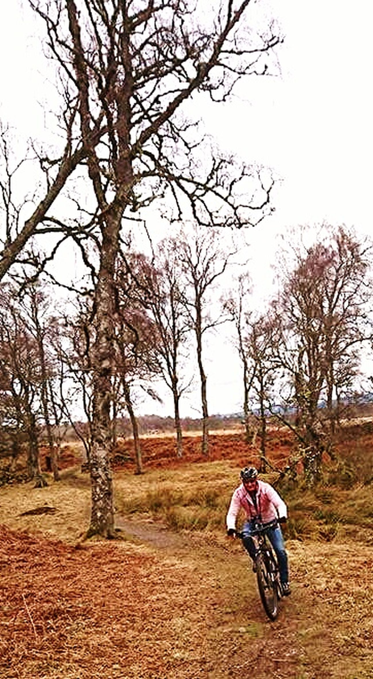 Enjoying the country side, Scotland, UK. Excercising