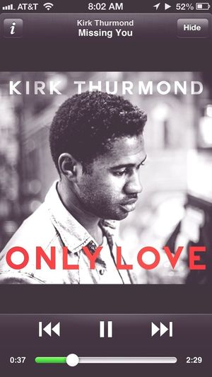 Very glad I was able to be a part of this record. If you don't have this.. Well you know.. Get some soul in your life @kirkthurmond