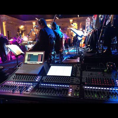 Livesound Samysband På Party bigband digico sd8 mixer amazing band record