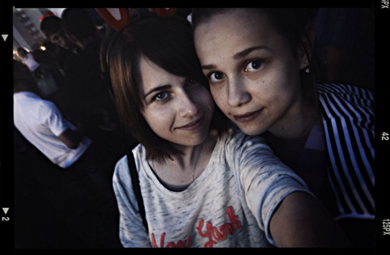 I and my friend :3