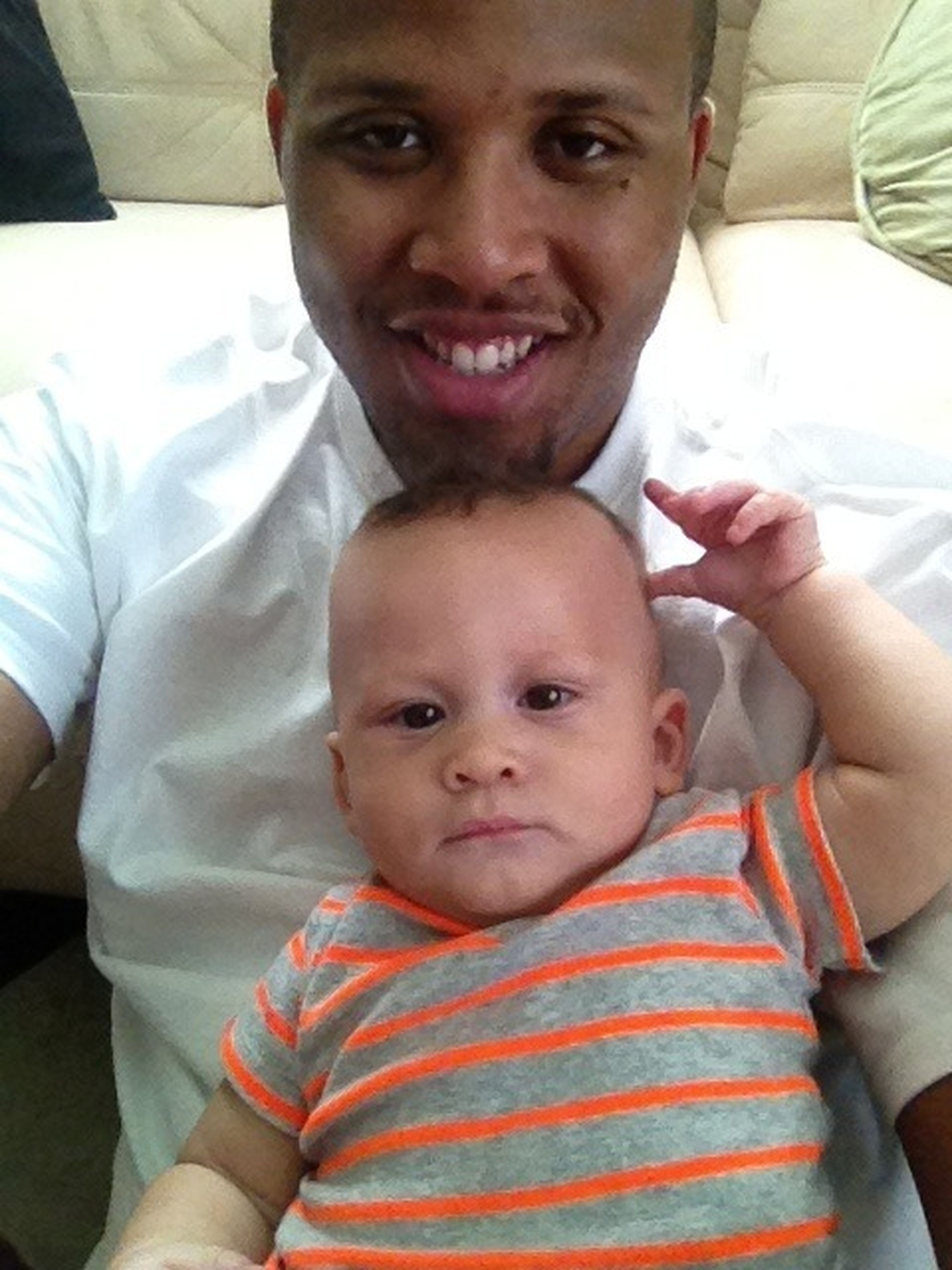 me and my godson Nathan