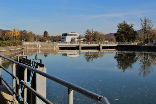 Day Freilassing Nature No People Outdoors River Sky Stausee Water Canon1200d
