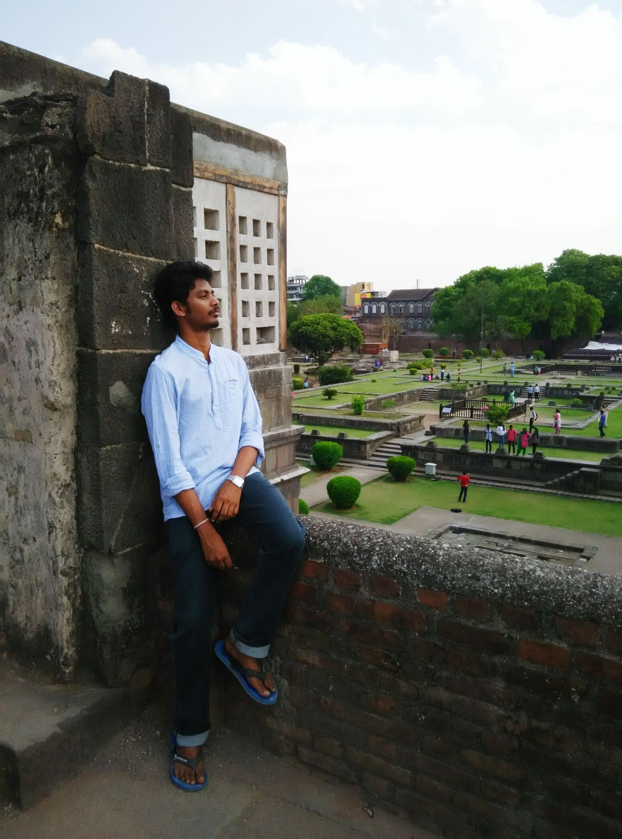Indian Shanivarwada Pune Thinking About You Oldfort Beauty OverviewPoint