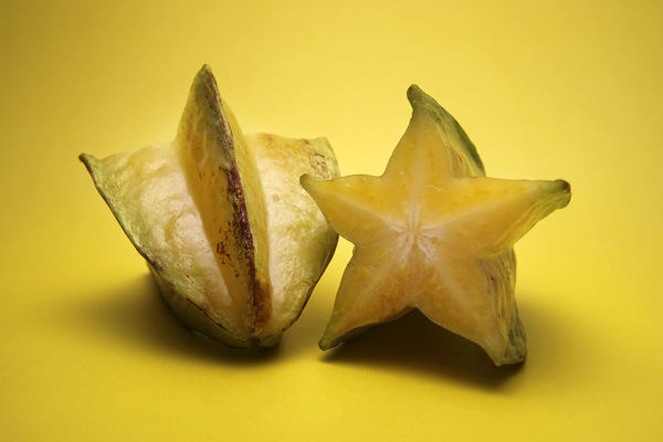 Close-up Fresh Fruit Fruits SLICE Star Fruit  Star Fruits Tropical Fruits Vitamin