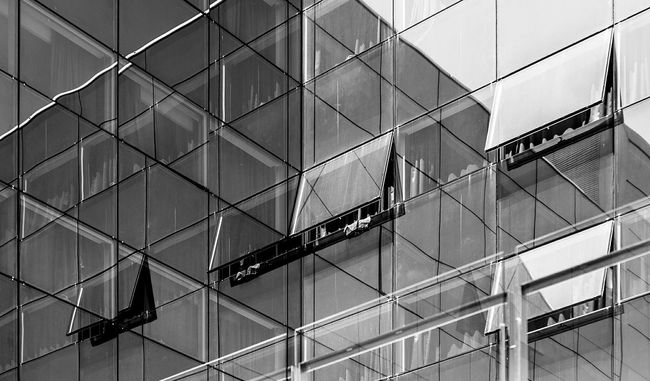 Lines And Shapes Open Edit Composition Light And Shadow Textures And Surfaces Blackandwhite Monochrome Monochrome_life The Architect - 2016 EyeEm Awards Reflection Diagonal Lines