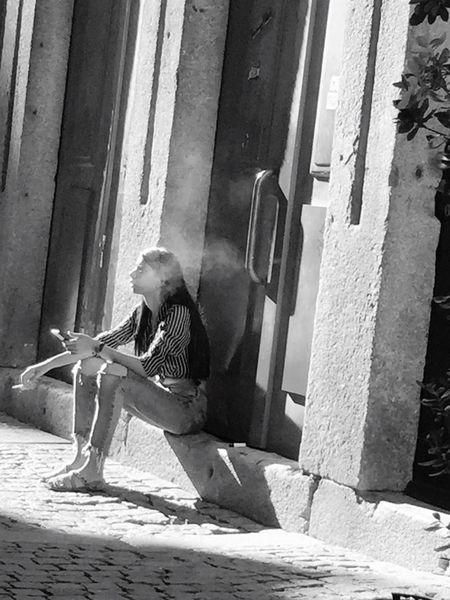 Girl Smoking