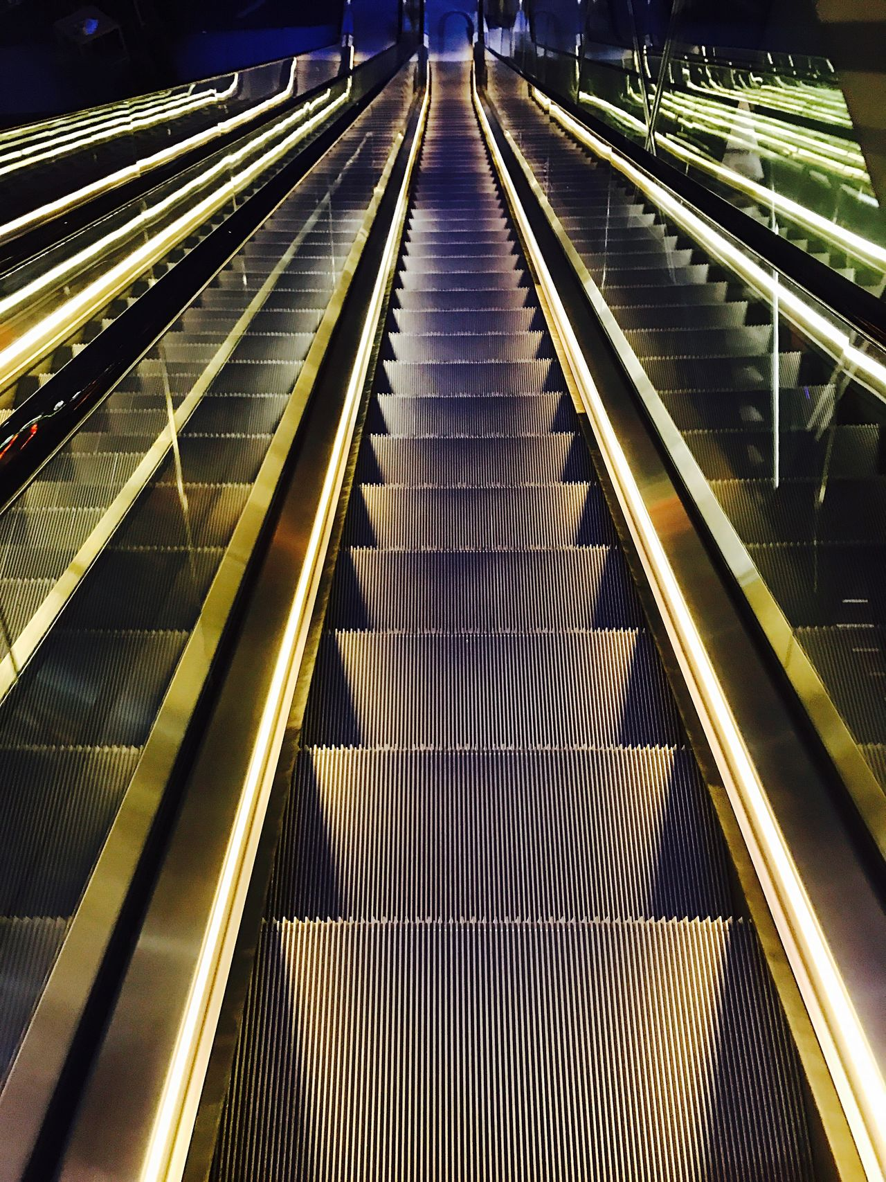 Night Staircase Steps And Staircases Steps Railing Convenience Futuristic Indoors  Architecture Technology Modern Built Structure The Way Forward Illuminated No People Berlin Hand Rail
