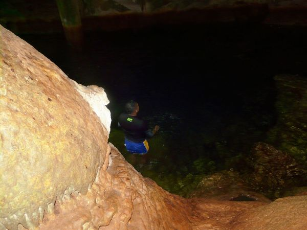 Cave spring bath Gasparee Caves Caribbean Life Down The Islands Gasparee Island Trinidad And Tobago