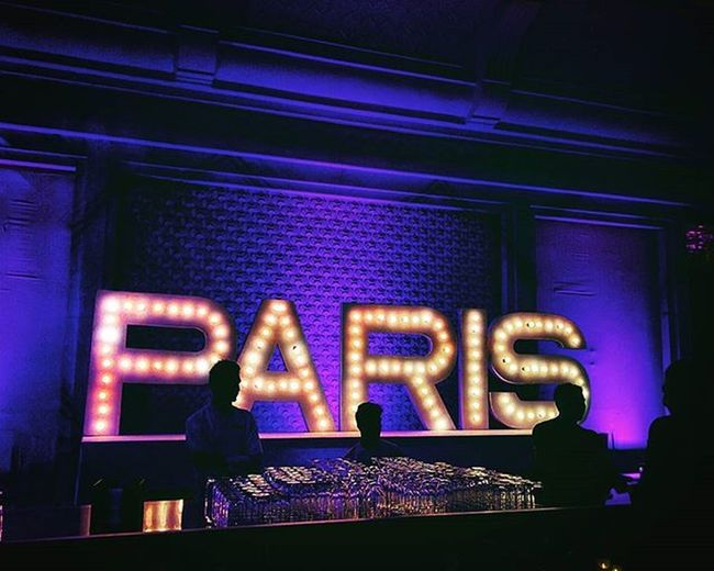 Gagans_photography Aeshkydiwedding Instawedding Weddingseason Paris Reception Theme