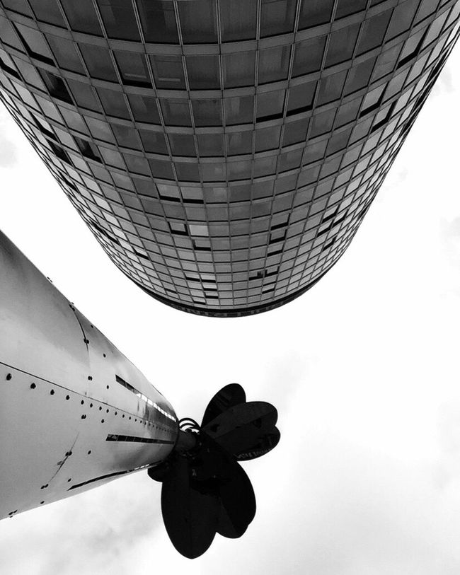 Lookingup Skyscraper Birmingham Rotunda