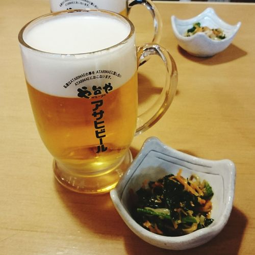 Food And Drink Drink Beer - Alcohol Beer Glass 食べもの Food Foods Food And Drink Beertime Beer ビール や台すし