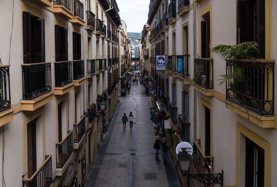 Puerto Architecture City Geometric Shape Outdoors San Sebastian Street Travel Destinations
