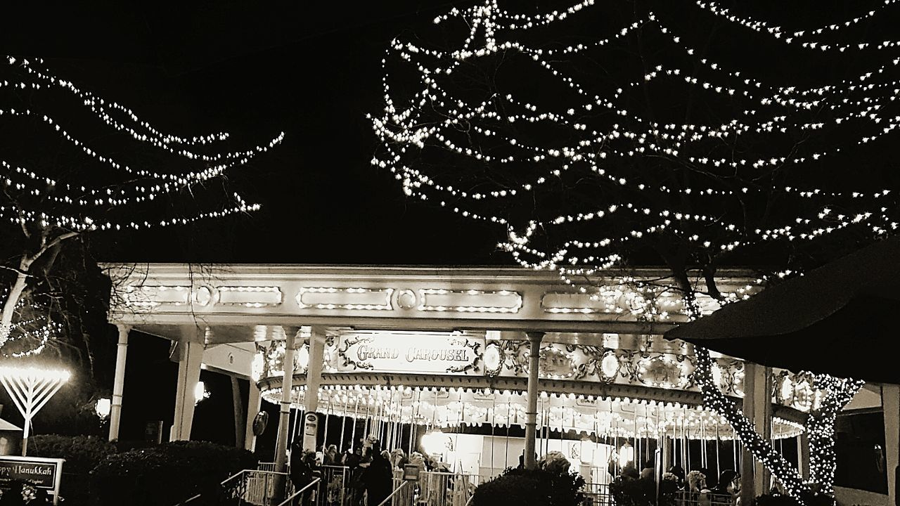 Six Flags Magic Mountain Black & White Carousel Taking Photos Hanging Out Funtimes Cold Temperature California Southern California