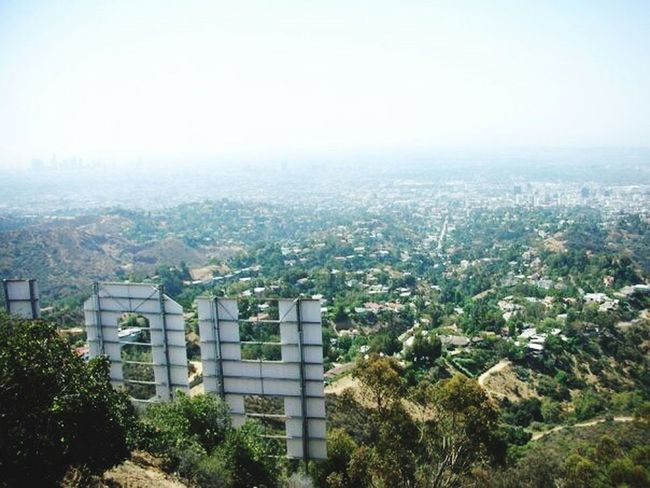Hollywood Lalaland Losangeles California Love Landmark View