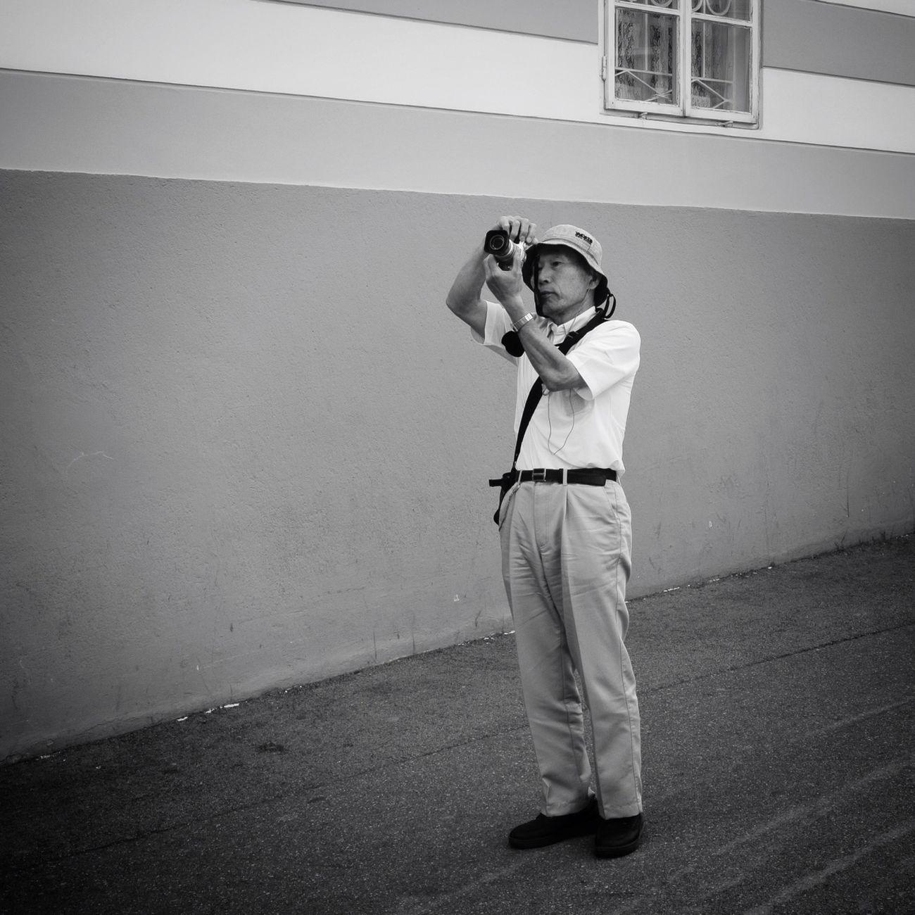 Shooting the shooter Blackandwhite Nikon 1 V1 Taking Photos Of People Taking Photos