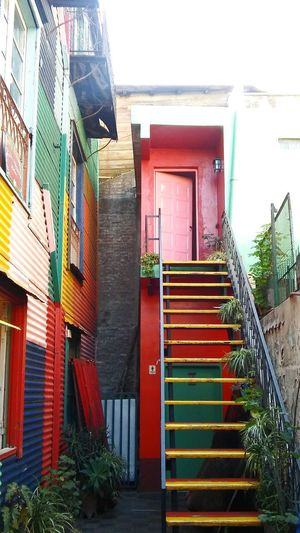 Steps Steps And Staircases Staircase Architecture Built Structure Multi Colored Travel Pictures Travel Destinations Art Is Everywhere Boca Caminito Buenos Aires Colors Façade City Views Architecture