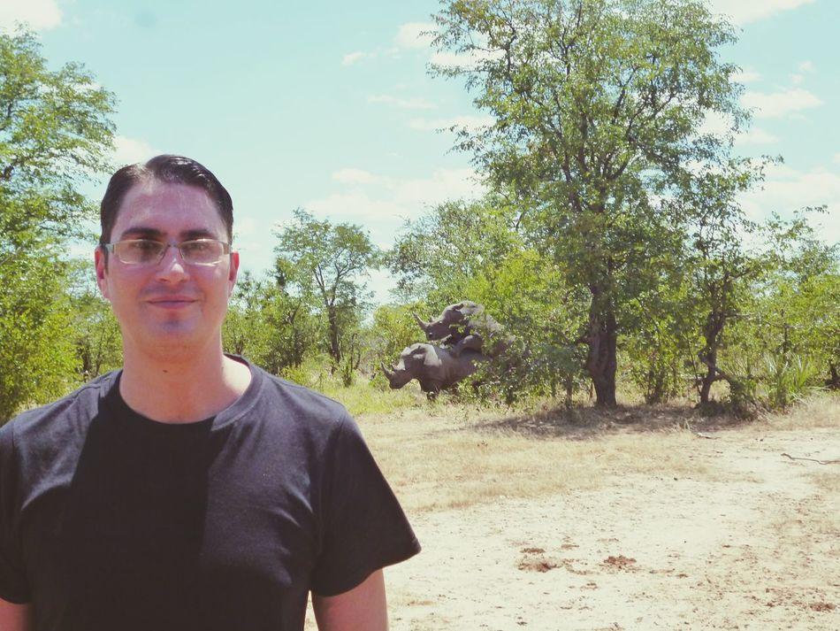 Taking Photos Funny Backgrounds Zambia Wildlife Wildlife & Nature Rhino Rhinos Enjoying Life Animals In The Wild Animal Love That's Me