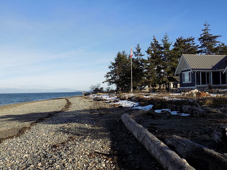Built Structure Building Exterior Tree Outdoors Sky Architecture Vacations Beach Day No People Nature Natural Lighting Photography Canada Photos Vancouver Island Canada Beach Photography