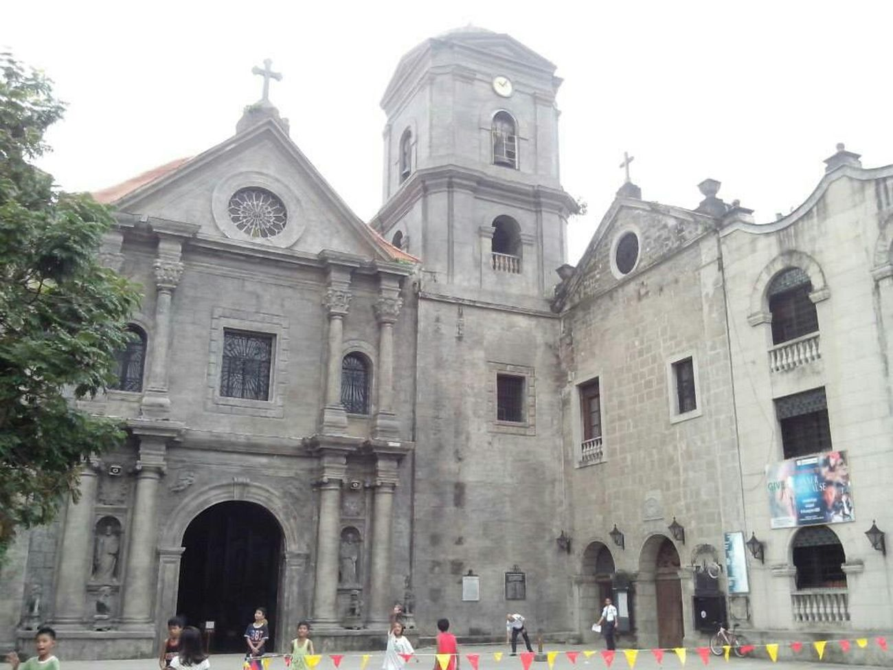 5MP Alcatel One Touch 5021E Churches Intramuros San Agustin Church Mobile Photography Biking By…