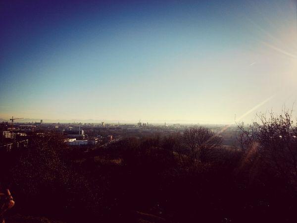 München, New Years Eve. Olympiapark