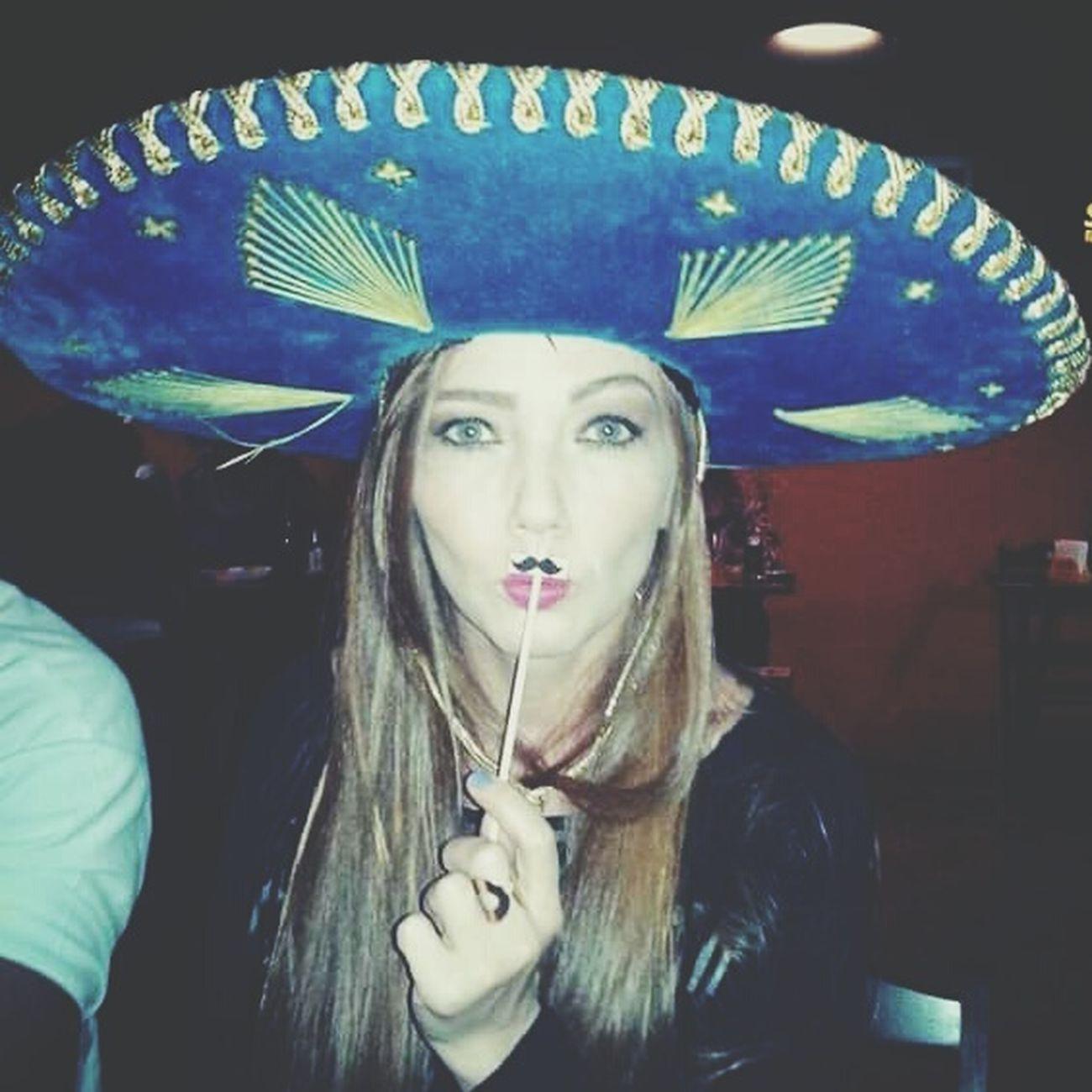 Mexican night Arriba Muchacha Mexicolors Mustache Mymoformovember My Mo For Movember