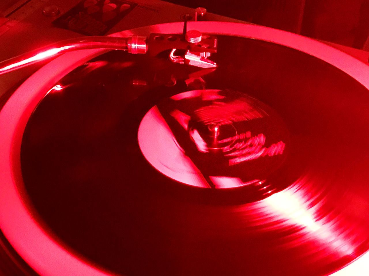 Records Turntable Music Red
