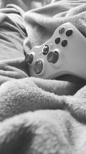 Technology is modern comfort. Bed Games Technology Microsoft Xbox360 Comfortable