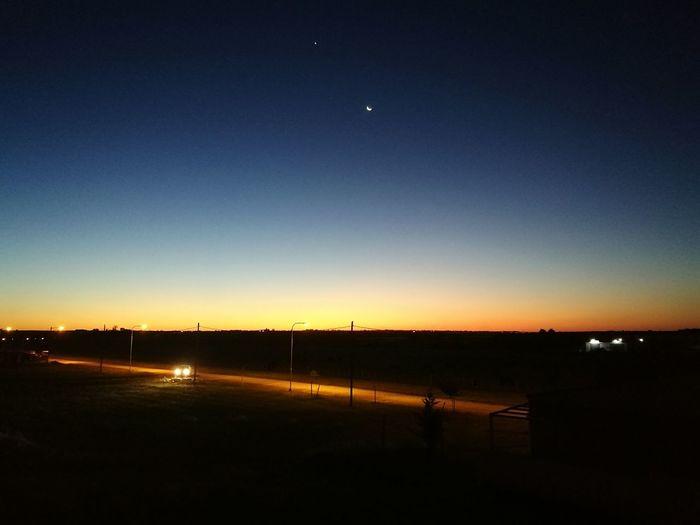 Sunset Astronomy First Eyeem Photo