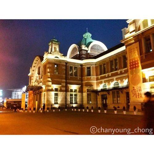 대한민국 서울 서울역 야경 밤 반짝반짝 친구들이랑 여행 2014 사진 Korea Seoul Seoulstation Nightview Night Twinkle Withfriends Travel Travelgram 2014 Photo