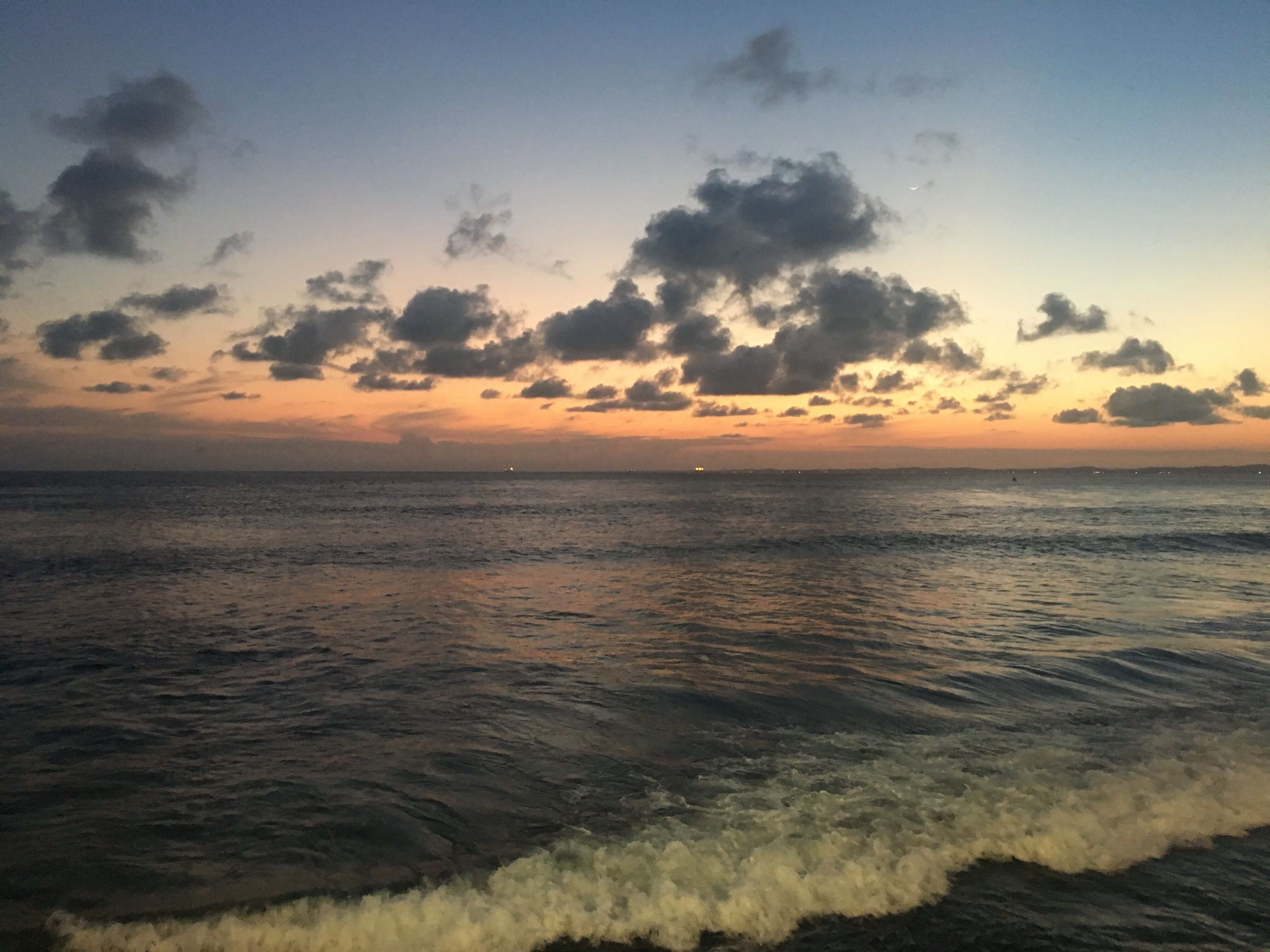 sea, sunset, beach, sand, scenics, sun, outdoors, sky, nature, no people, horizon over water, water, vacations, beauty in nature, postcard