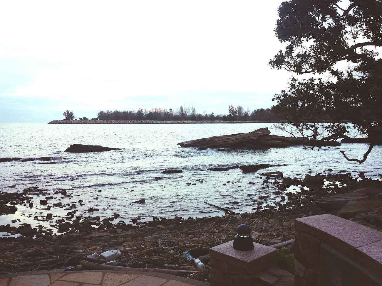 Beachphotography Sea View Brunei Darussalam