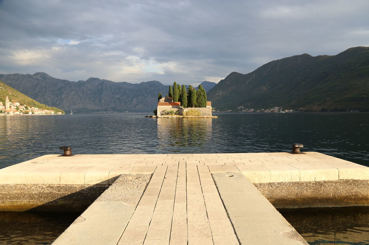 Cattaro Cloud - Sky Island Kotor Lake Monastry Montenegro Mountain Mountain Range Nature No People Outdoors Travel Destinations