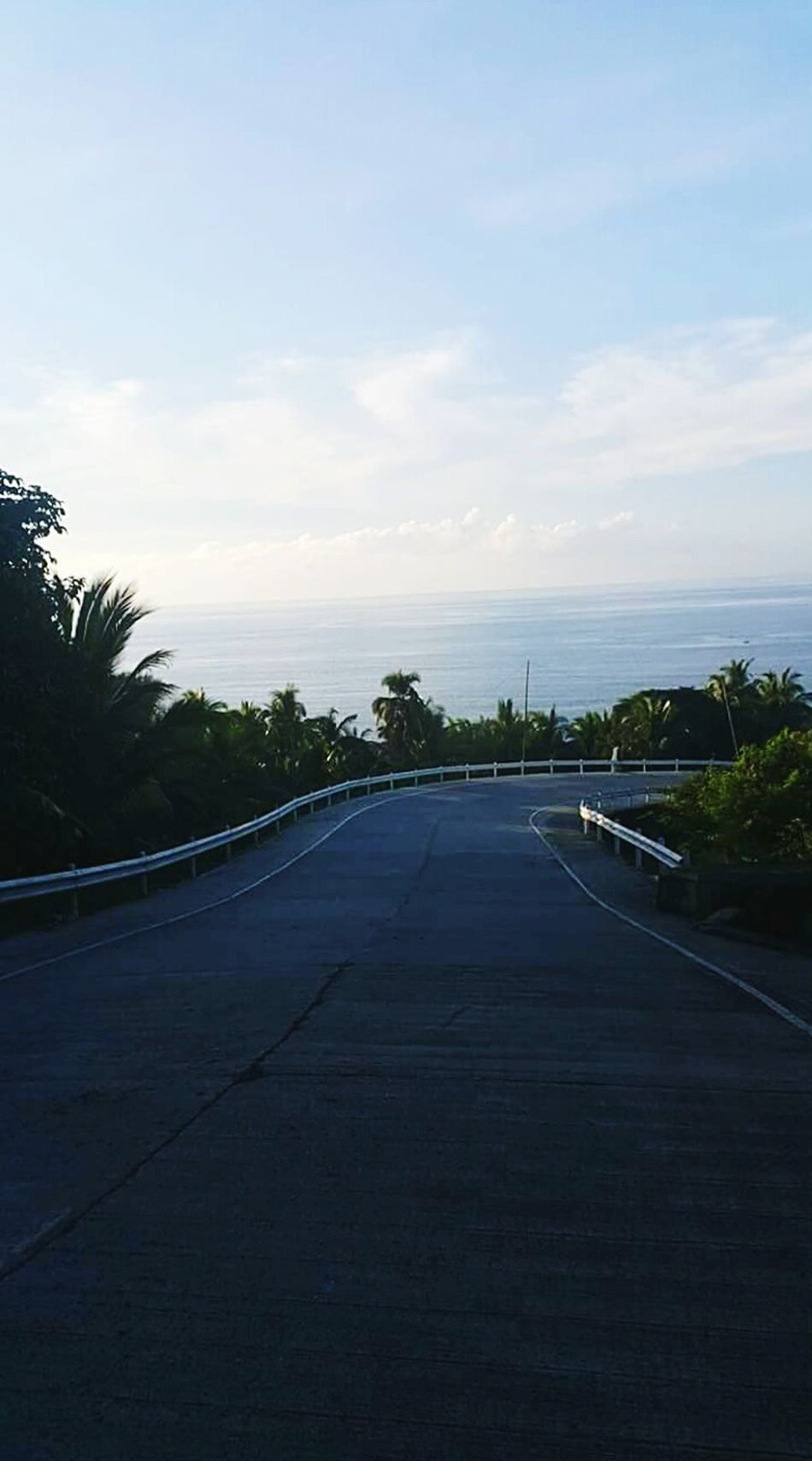 Road to you.😍 Streetphotography Outdoor No People Tree Cloud - Sky Eyeem Philippines Sweetserenity Eyeem Collections Above Sea Level Airbreeze Sky_collection First Eyeem Photo Bestmoment Manmadescape Beautifulmoment Peaceful Street