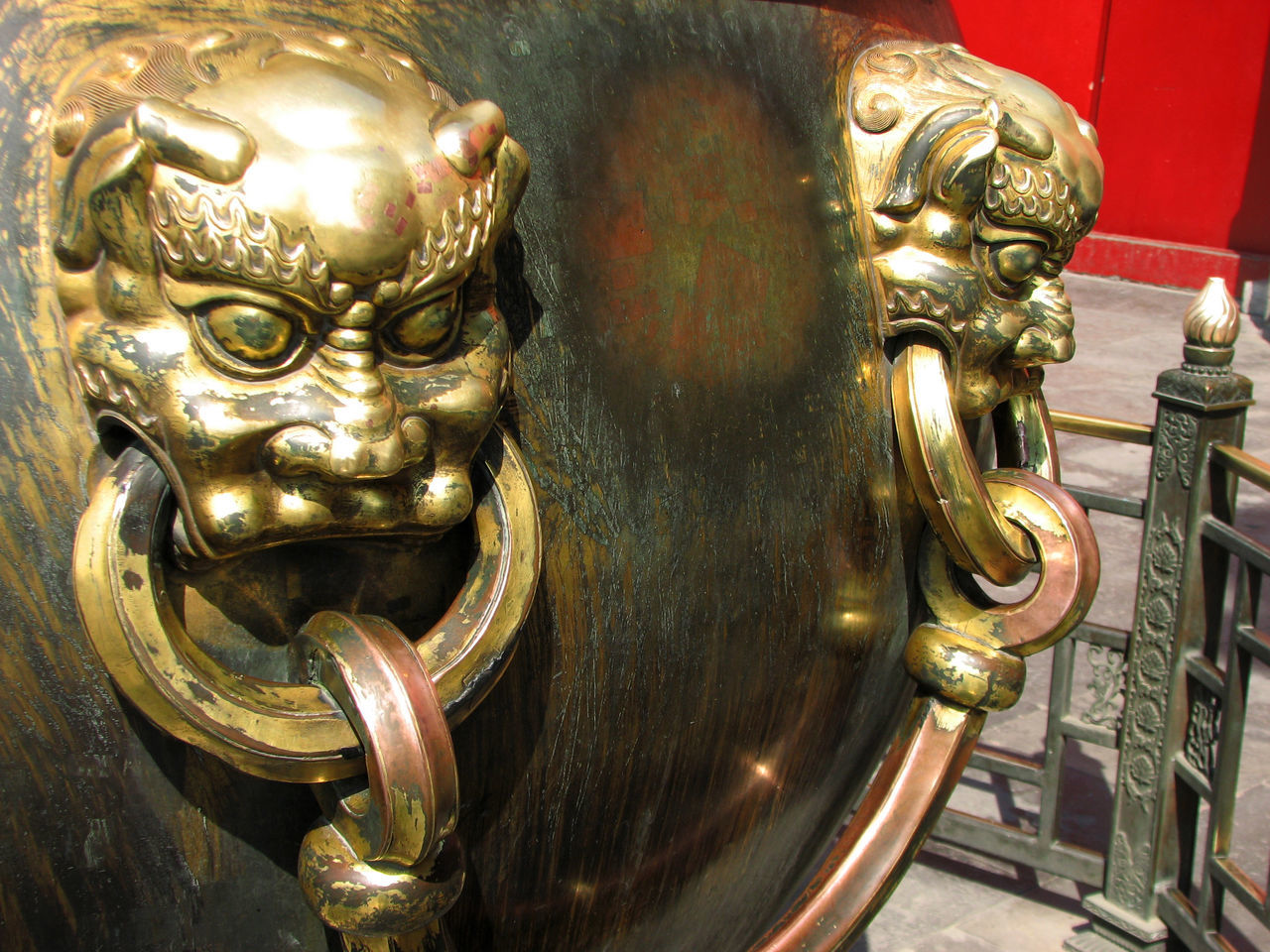 gold colored, art and craft, metal, no people, door, sculpture, close-up, statue, gold, indoors, day