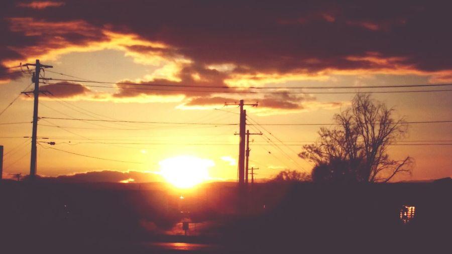 Oregon Beautiful Sunset
